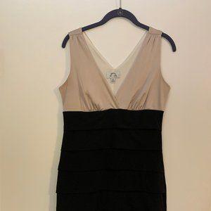 Sweet Storm: XL Black/Gold Dress